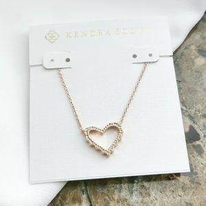 NWOT Kendra Scott Sophee Small Heart Pendant